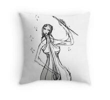 Play Me, Cello Throw Pillow