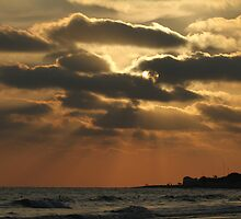 blazing clouds in Rota by fototaker