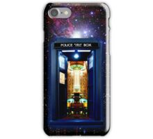 Space And Time traveller Box that More Bigger on the inside iPhone Case/Skin