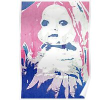 Scary Doll Screenprint #2 Poster