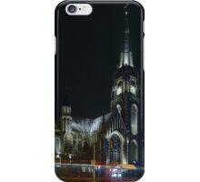 St. Elizabeth Church at Night iPhone Case/Skin
