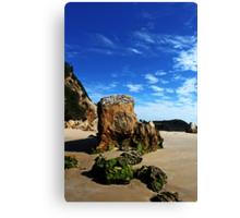 GlassHouse Rocks  Beach #7 Canvas Print