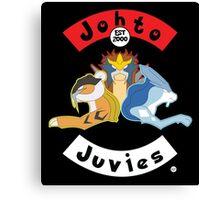 Shiny Beastie Johto Juvies Canvas Print