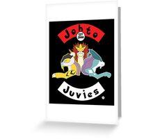 Beastie Johto Juvies Greeting Card
