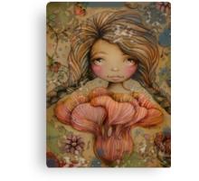 The Heart Garden of Summer Ivy Canvas Print