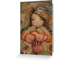 The Heart Garden of Summer Ivy Greeting Card