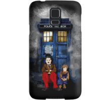 Charlie Chaplin with the kid waiting an Angel Samsung Galaxy Case/Skin