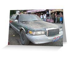 RedNeck Limo Greeting Card