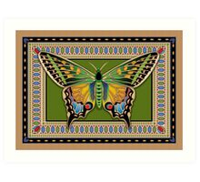 Jeweled Butterfly Art Print