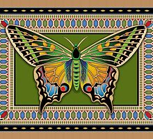 Jeweled Butterfly by Kathleen Dupree