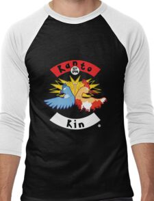 Kanto Kin Men's Baseball ¾ T-Shirt