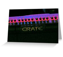 Crate Greeting Card
