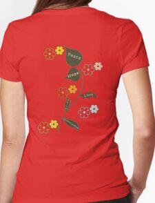 Peace, Love and Understanding T Shirt T-Shirt