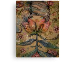 The Heart Garden of Lily Mai Canvas Print