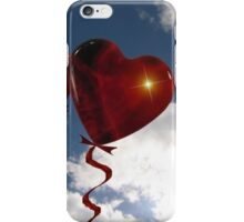 Balloon hearts  iPhone Case/Skin