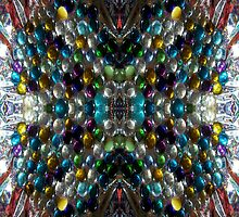 Rich Colorful Glass Droplets by BethofArt
