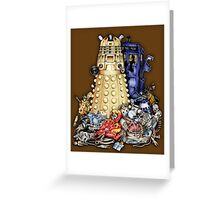 The Best Robot in the Universe Greeting Card