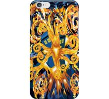 Exploded Phone booth Digital painting iPhone Case/Skin