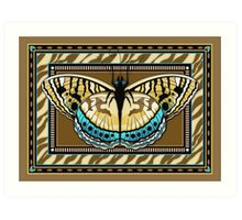 Tiger Stripe Butterfly Art Print