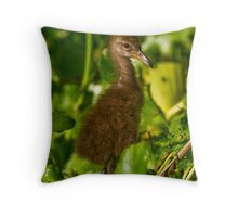 Awe my first photo shoot ! Is this my good side? Throw Pillow