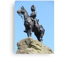 Royal Scots Greys' memorial Canvas Print