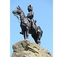 Royal Scots Greys' memorial Photographic Print