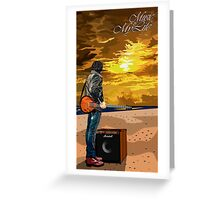Music Is My Life Greeting Card