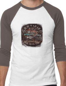 Certified Barista Men's Baseball ¾ T-Shirt