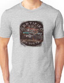 Certified Barista Unisex T-Shirt