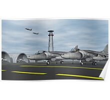 Harrier Base Poster