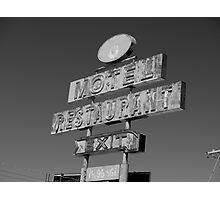 Forgotten Road side Motel. Photographic Print