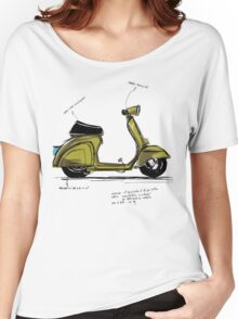Scoot! Women's Relaxed Fit T-Shirt