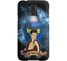 Time and Space Traveller with Banana Samsung Galaxy Case/Skin