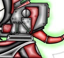 "'Devil-Botz!!! ......"" rendered by ""Shannon Rene' Sticker"