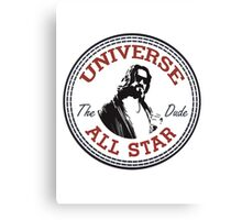 The Dude All Star Canvas Print