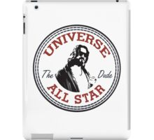 The Dude All Star iPad Case/Skin