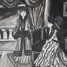 Sisters in separate memories by Zelli