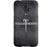 The Black Dagger Brotherhood  [black text] Samsung Galaxy Case/Skin