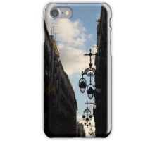A Necklace of Barcelona Streetlamps iPhone Case/Skin