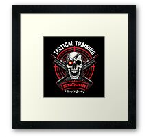 SS Tactical Training Framed Print