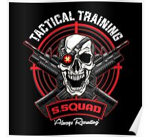 SS Tactical Training Poster