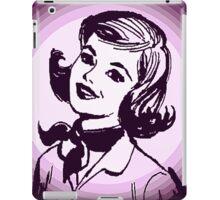 Vintage Purple Girl iPad Case/Skin