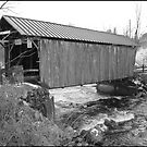Covered Bridge in New York #2 by Debbie Robbins