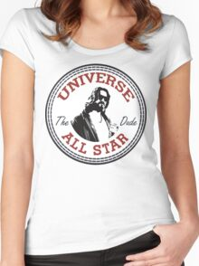 The Dude All Star Women's Fitted Scoop T-Shirt