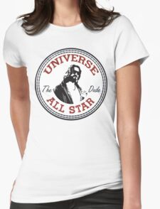 The Dude All Star Womens Fitted T-Shirt