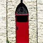 Red Church Door by Heather Paakkonen