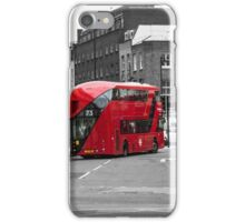 The Red Bus iPhone Case/Skin