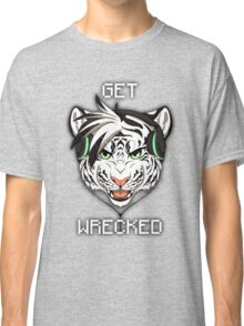 GET WRECKED - White Tiger Classic T-Shirt