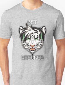 GET WRECKED - White Tiger Unisex T-Shirt