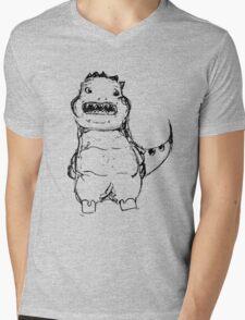 Dino - Saur Mens V-Neck T-Shirt